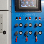 control panel for screw cleaning machines