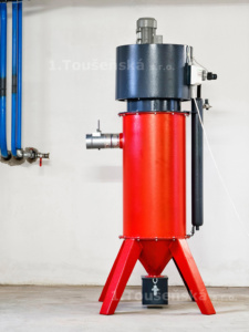 dust collector with one cartridge