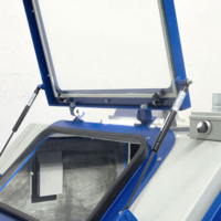 Top Opening View Window for sandblasting cebinet