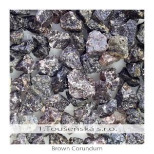 brown corundum (aluminium oxide)