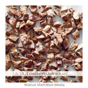 walnut shell blast media is a soft abrasive